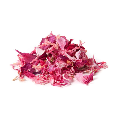 DRIED EDIBLE ORGANIC PELARGONIUM PINK 4G