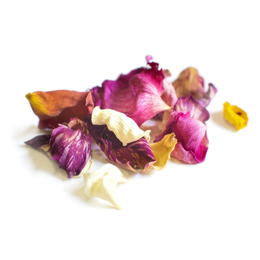 DRIED EDIBLE ORGANIC ROSE PETALS MIXED 5G