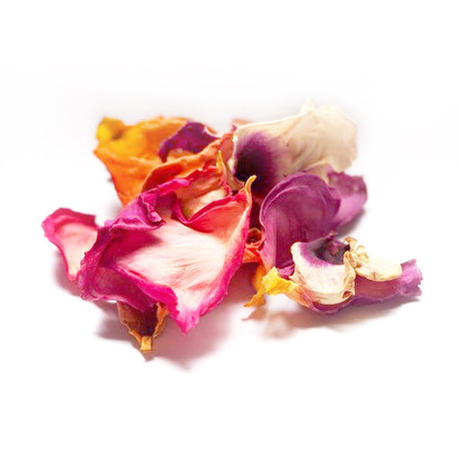 DRIED EDIBLE ORGANIC ROSE PETALS PINK 5G