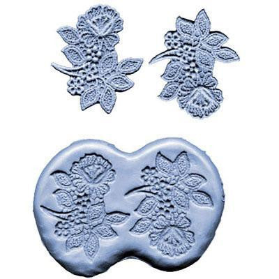 SILICONE MOULD FLOWER SPRAY 3