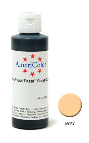 AMERICOLOR GEL COLOUR 4.5OZ IVORY