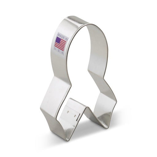 ANN CLARK COOKIE CUTTER AWARENESS RIBBON 4""