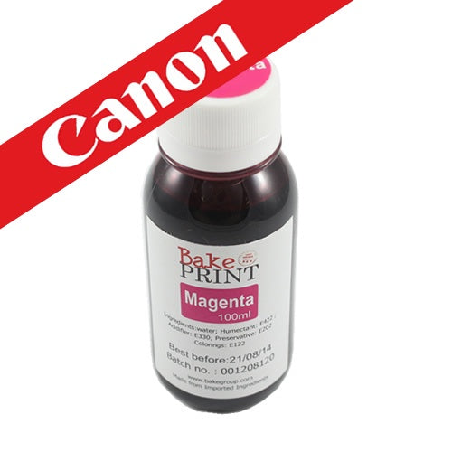 CANON EDIBLE INK REFILL 100ML MAGENTA