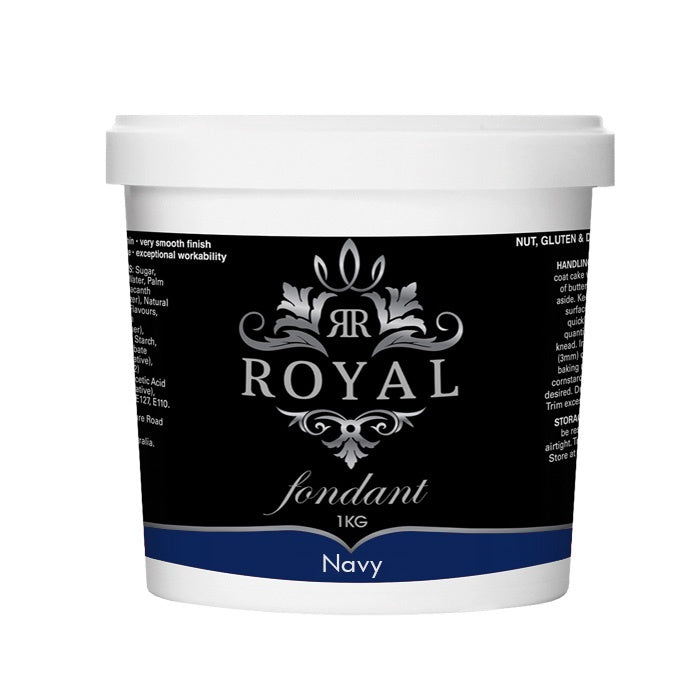 ROYAL FONDANT 1KG NAVY BLUE