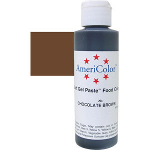 AMERICOLOR GEL COLOUR 4.5OZ CHOCOLATE BROWN