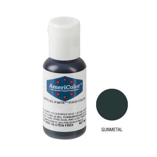AMERICOLOR GEL COLOUR 21G GUNMETAL *CLEARANCE*