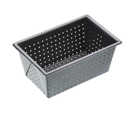 MASTERCRAFT CRUSTY BAKE BOX SIDED LOAF TIN 16CM