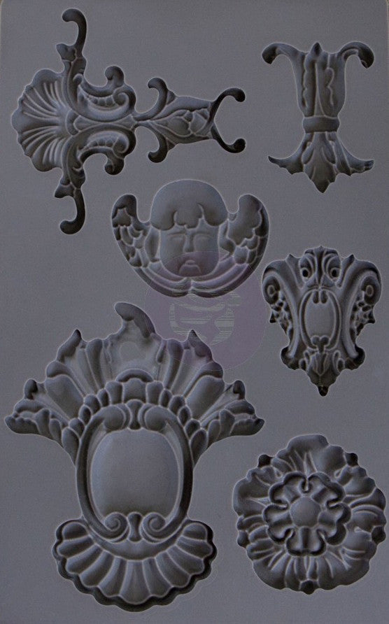 SILICONE MOULD DECOR BAROQUE 2