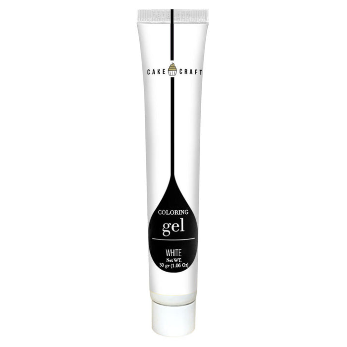 GEL COLOUR 30G WHITE