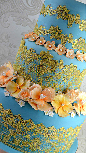 CAKE LACE MAT ETERNITY 3D