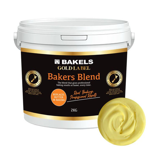 BAKELS GOLD BAKERS BLEND BUTTER REPLACEMENT 2KG