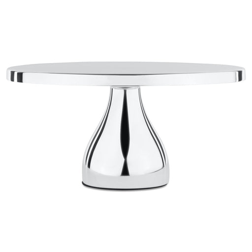 CAKE STAND MODERN SILVER PLATED 12""