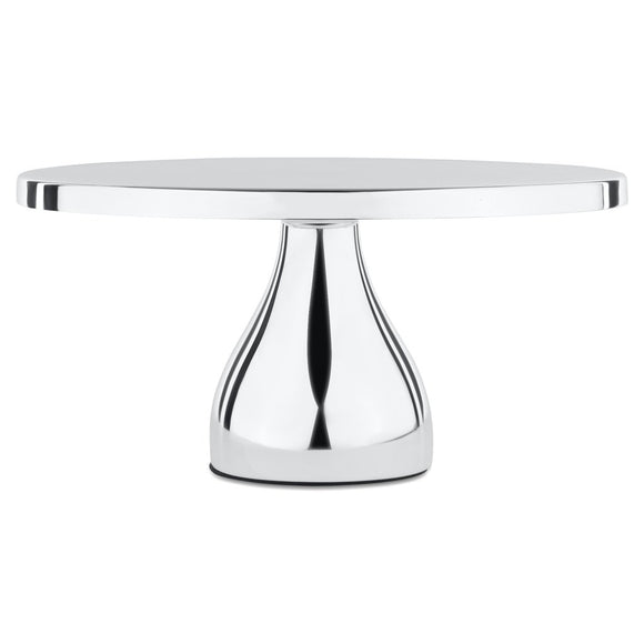 CAKE STAND MODERN SILVER PLATED 12
