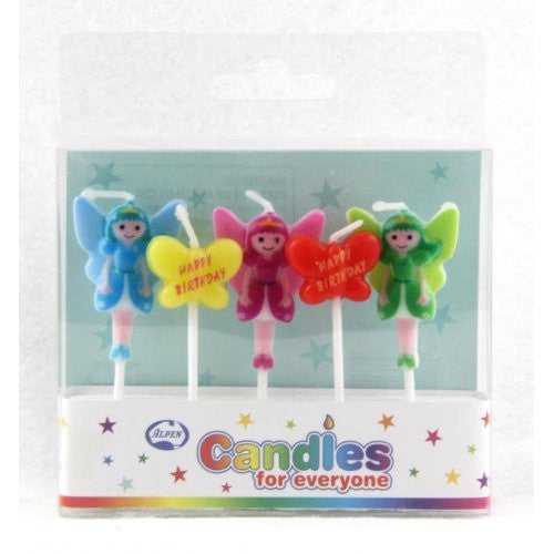 CANDLE LITTLE FAIRIES 5PC