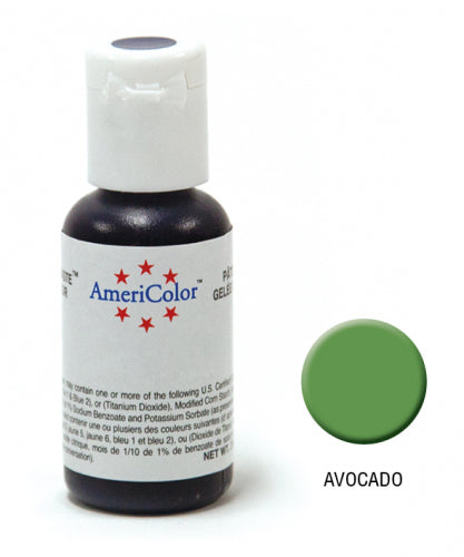 AMERICOLOR GEL COLOUR 21G AVOCADO