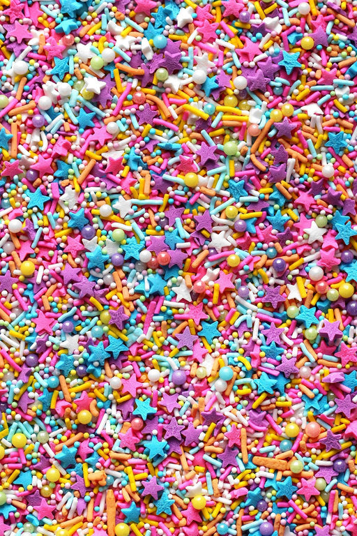 FANCY SPRINKLES 113G NEON LIGHTS (VEGAN)