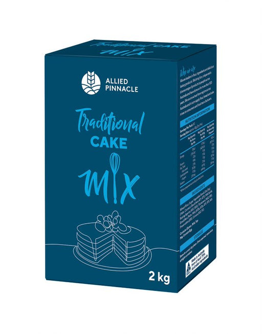 CAKE MIX 2KG ALLIED PINNACLE TRADITIONAL CAKE