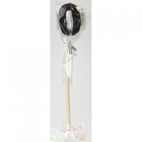 STICK CANDLE GLITTER BLACK #0