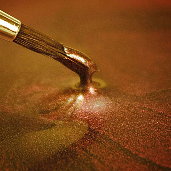 METALLIC FOOD PAINT DARK GOLD
