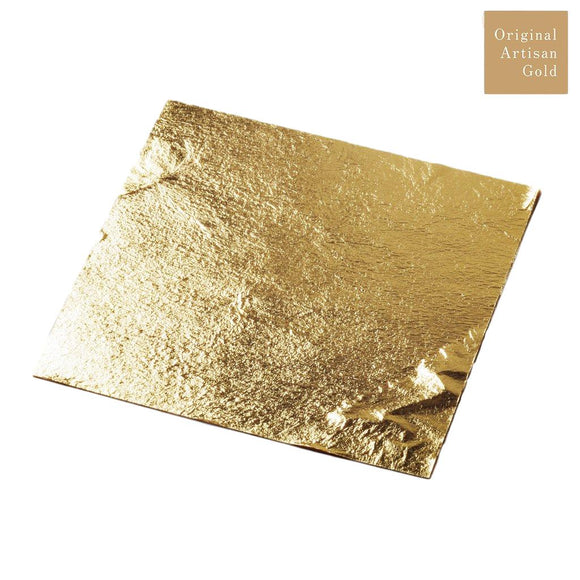 GOLD LEAF 11CM LOOSE LEAF 5PC