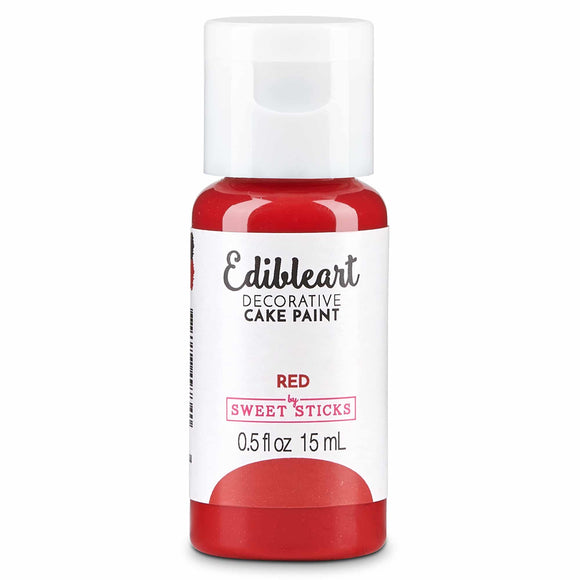 EDIBLE ART DECORATIVE PAINT 15ML RED
