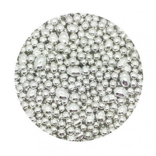 CACHOUS SILVER MIXED 100G