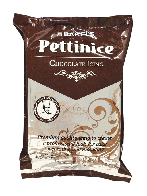 BAKELS PETTINICE FONDANT 750G CHOCOLATE
