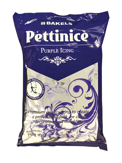 BAKELS PETTINICE FONDANT 750G PURPLE