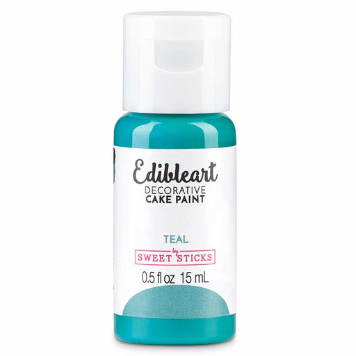 EDIBLE ART DECORATIVE PAINT 15ML TEAL