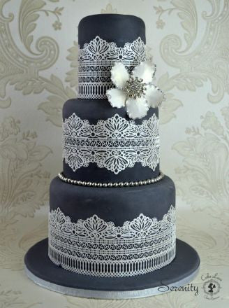 Cake Lace Mat Serenity 3d Cakers Warehouse