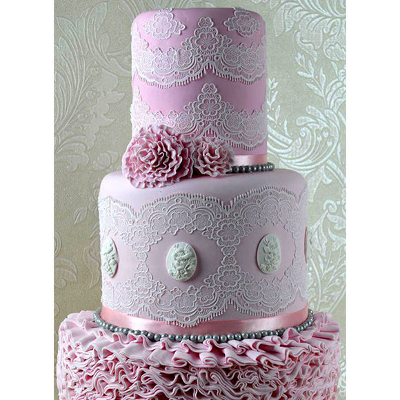 CAKE LACE MAT TIFFANY 3D