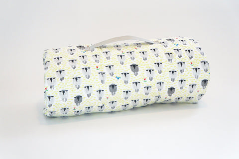 Organic Nap Mat - Sleepy Sheep