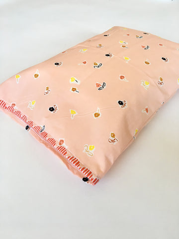 Organic Toddler Pillow Case - Prettiest Flowers