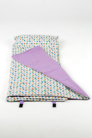 Organic Nap Mat - Preschool Toddler - Snails