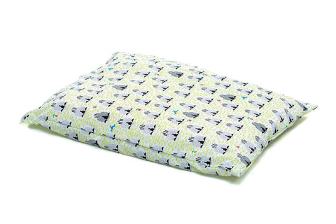 Organic Toddler Pillow Case - Sleepy Sheep