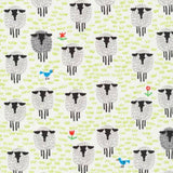 Organic Blanket - Reversible- Sleepy Sheep Original