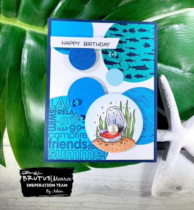 Stamp Club - July — birthday card