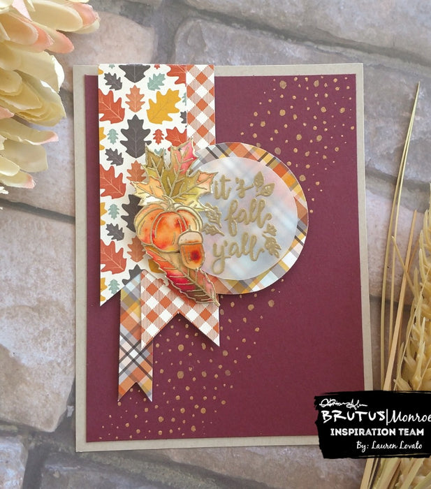 Fall Y'all With Patterned Papers