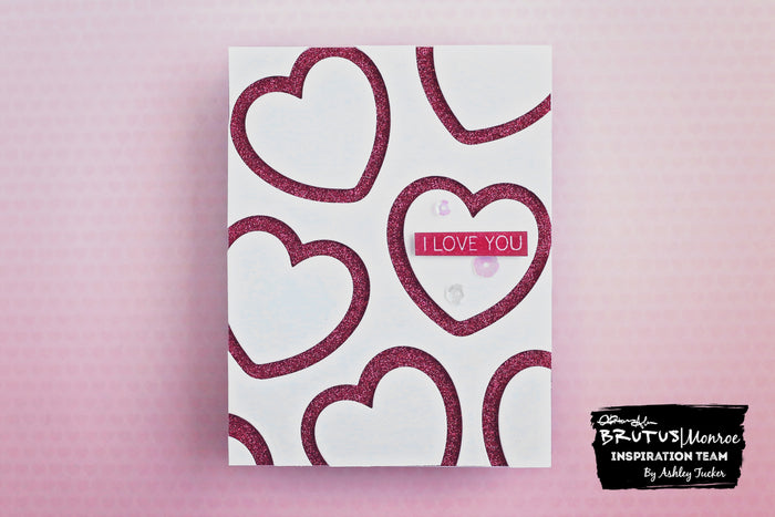 Die Cut Hearts Valentine | Cards with Ashley