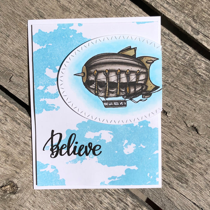 Believe card.