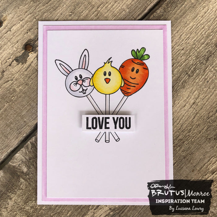 Easter love you card