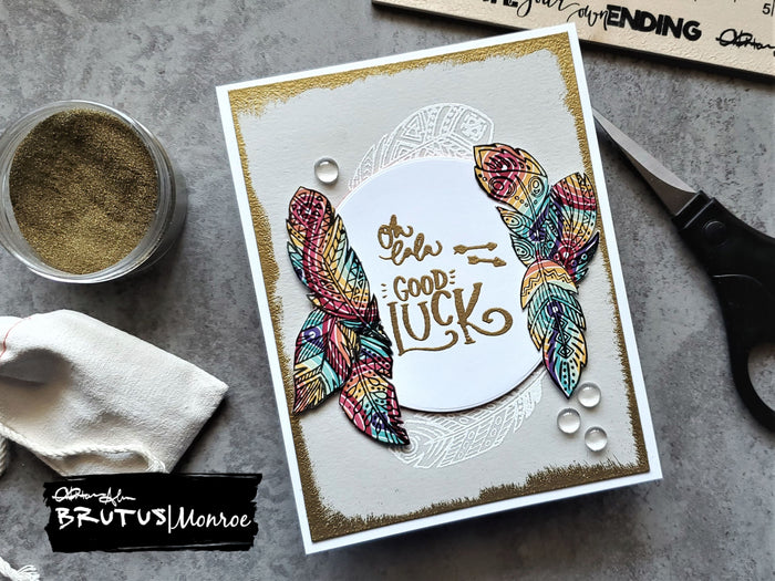 Embossing Powder Details, Oh lala!