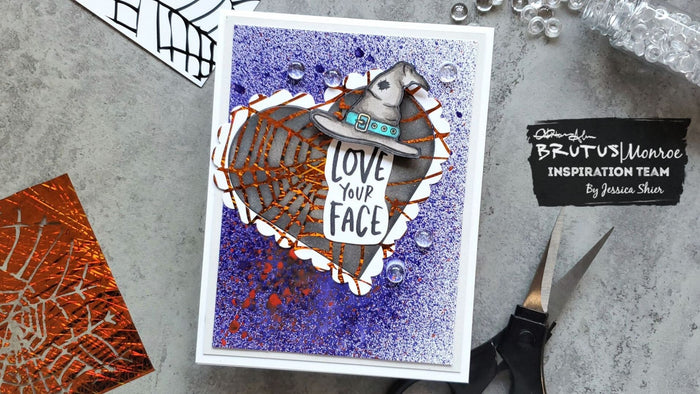 Love Your Face Halloween Card