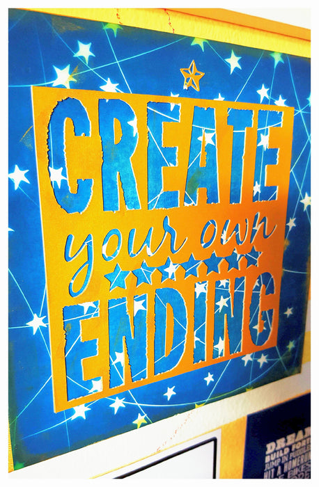 Create Your Own Ending Canvas