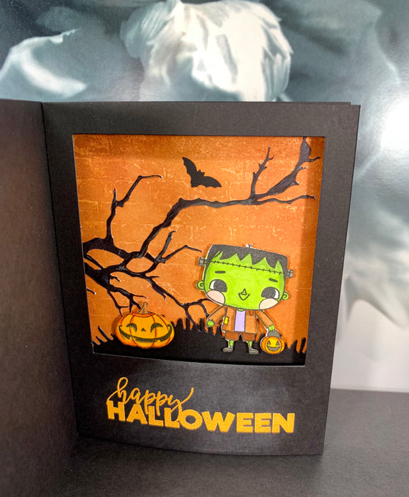 Halloween Box Card