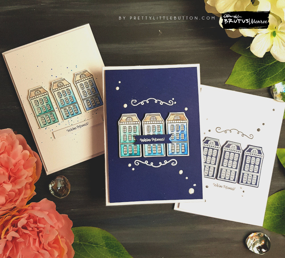 We've moved! A Trio of cards