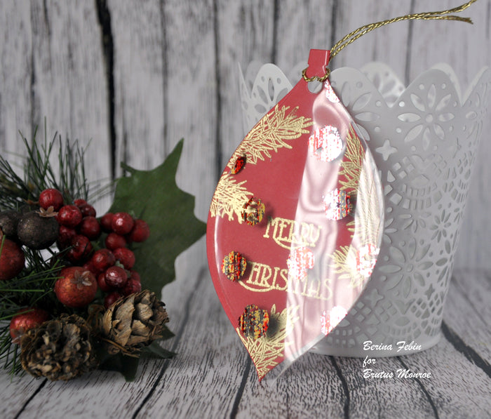 Layered Christmas Tag