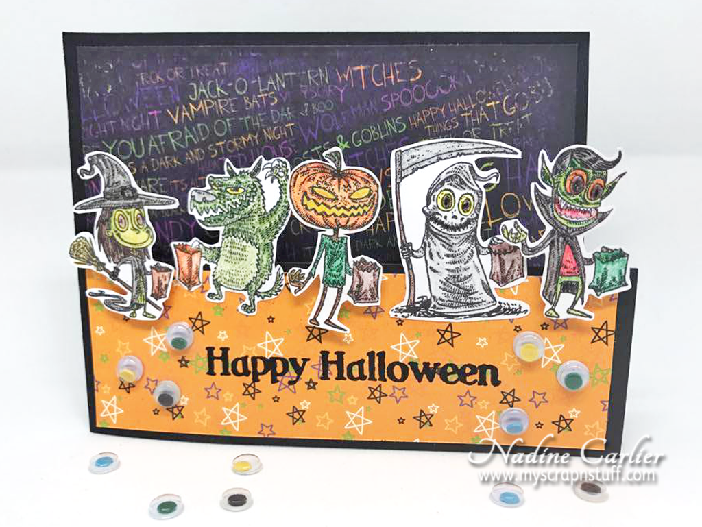 Happy Halloween Trick or Treat Card