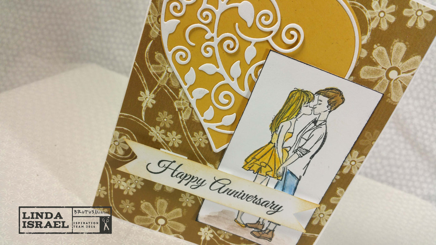 Happy Anniversary Greeting Card Brutusmonroe