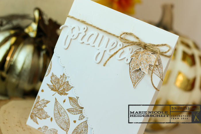 Foiled! Fall Tangled Elements Paper Stack